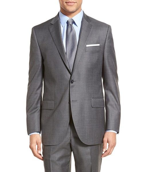 Lucifer Morningstar Grey Suit