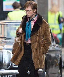 Elton John Shearling Coat
