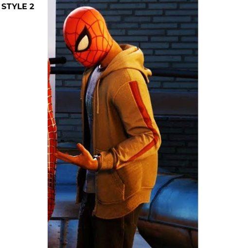 Miles Morales Spider Verse Hooded Jacket