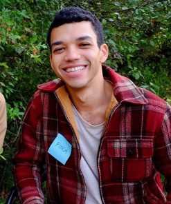 Theodore Finch All The Bright Places Justice Smith Red Plaid Jacket