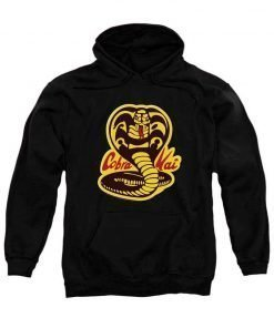 Karate Kid Cobra Kai Pullover Hoodie Black