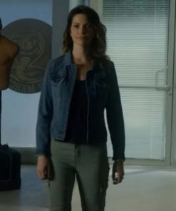 Courtney Henggeler Cobra Kai Blue Denim Jacket