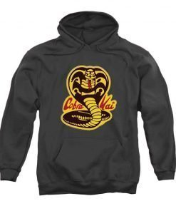 Karate Kid Cobra Kai Pullover Hoodie Grey