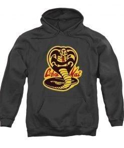 Karate Kid Cobra Kai Pullover Hoodie Grey