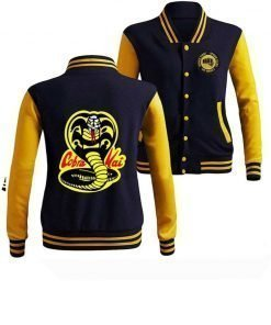 Karate Kid Cobra Kai No Mercy Bomber Jacket