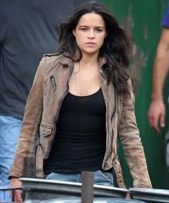 Letty Ortiz Fast And Furious 7 Michelle Rodriguez Leather Jacket