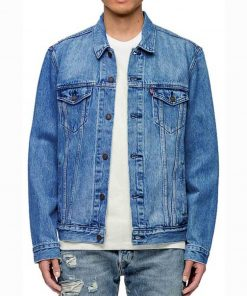 Luke Hobbs Denim Jacket Fast And Furious Denim Jacket
