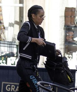 Ramsey Fast and Furious 9 Nathalie Emmanuel Bomber Jacket