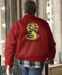Cobra Kai Red Bomber Jacket