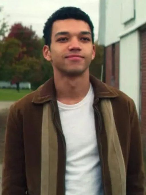 Theodore Finch Brown Velvet All The Bright Places Jacket