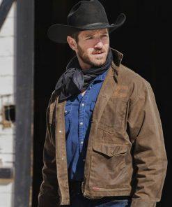 Ian Bohen Yellowstone S03 Ep09 Ryan Brown Jacket