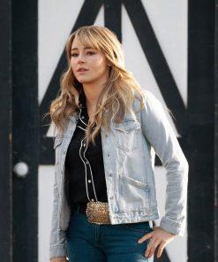 Nicole Duke Yellowstone S03 Ep09 Girlfriend Denim Jacket