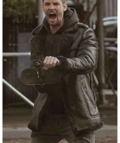The Punisher S02 Ben Barnes Shearling Jacket