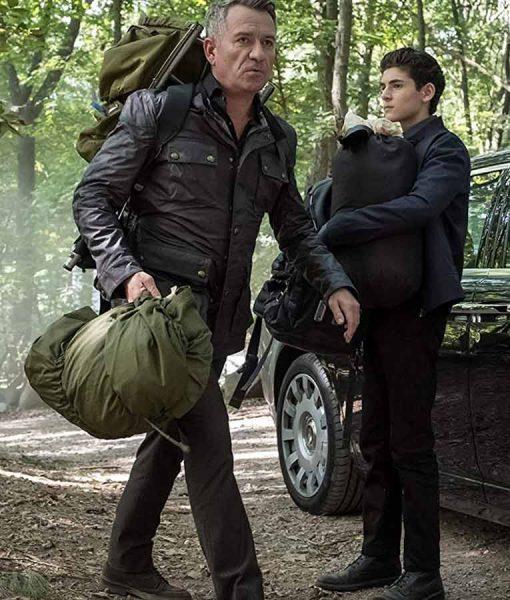 Gotham Sean Pertwee Military Jacket