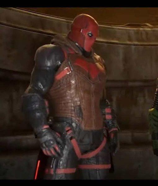Jason Todd Red Hood Vest Gotham