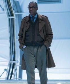 Justice League Silas Stone Coat