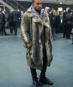 Kanye West Fur Coat - Up to 70% OFF With Free Shipping