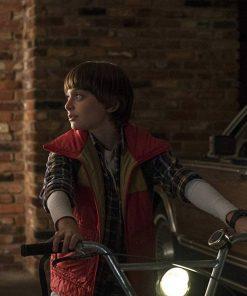 Noah Schnapp TV Series Stranger Things Will Byers Puffer Vest