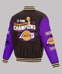 Los Angeles Lakers 17x Champions Jacket