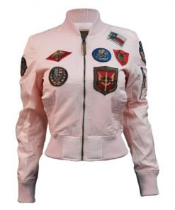 Top Gun MA-1 Women's Jacket With Patches