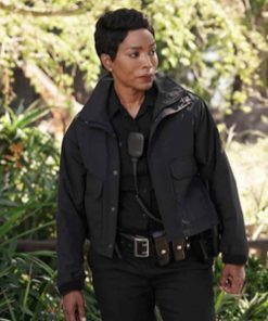9-1-1 Angela Bassett Black Jacket