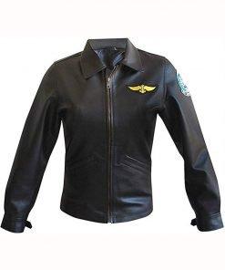 Charlie Top Gun Pilot Jacket