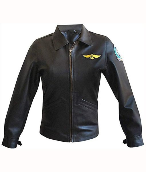 Charlie Top Gun Pilot Jacket