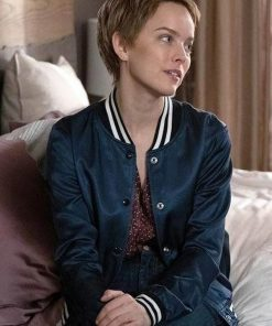 A Million Little Things Allison Miller Blue Varsity Jacket