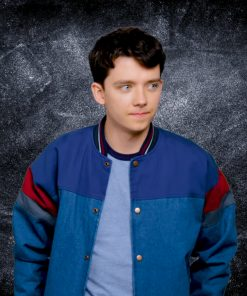 Sex Education Asa Butterfield Multicolor Jacket