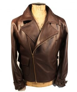 Captain America WW2 Brown Jacket