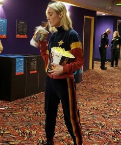 Brie Larson Captain Marvel Theater Tracksuit