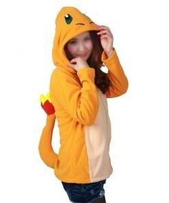 Pokemon Charmander Costume Hoodie