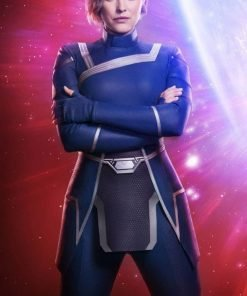 Crisis on Infinite Earths Lyla Michaels Blue Jacket