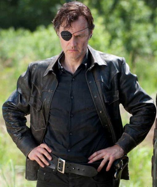 The Walking Dead Governor Black Jacket
