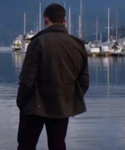 Sam Claflin TV Series Every Breath You Take 2021 James Black Cotton Jacket