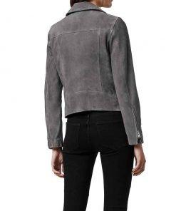Bloom Tv Series Fate The Winx Saga Abigail Cowen Suede Leather Jacket