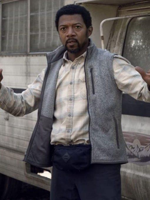 Miles Mussenden The Walking Dead Season 10 Franklin Grey Vest