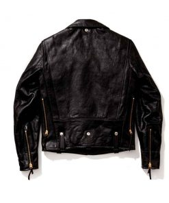 Vintage Black Motorcycle J-24 Buco Leather Jacket