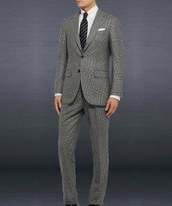 James Bond No Time To Die Grey Suit