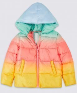 No Time To Die Ombre Puffer Jacket