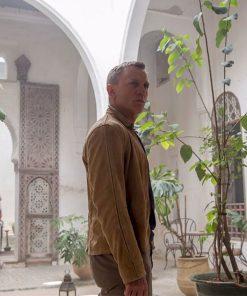 James Bond Spectre Morocco Brown Jacket