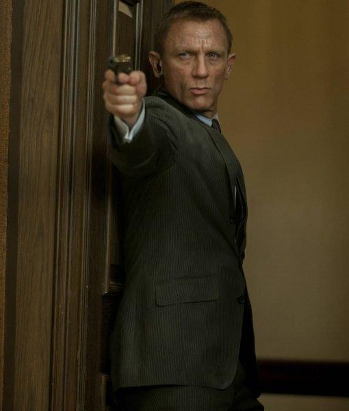 James Bond Skyfall Charcoal Suit
