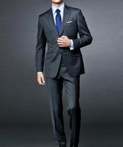 James Bond Spectre Grey Pinstripe Suit