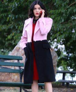 Katy Keene Pink and Black Coat