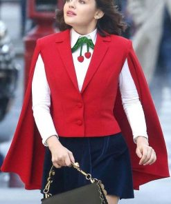 Katy Keene Red Vest with Cape