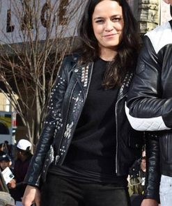 Letty Ortiz F9 Leather Studded Jacket