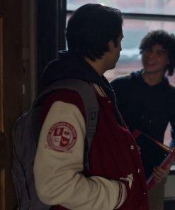 Kevin Alves TV Series Locke & Key Javi Letterman Jacket