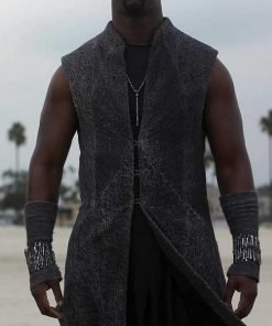 D.B. Woodside TV Series Lucifer Amenadiel Trench Coat