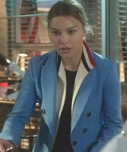 Lauren German TV Series Lucifer Chloe Decker Blue Blazer