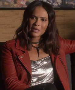 Lucifer S01 Mazikeen Red Jacket